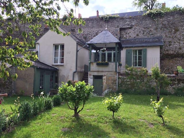 GITE vue sur Loire, citée médiévale