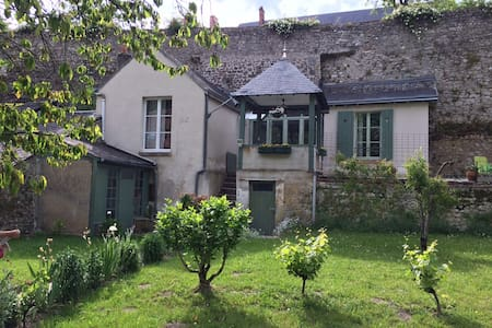 GITE vue sur Loire, citée médiévale - Hus