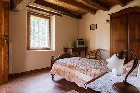 B&B Ca' Bertu'  Bedroom Picchio     - Comune Valsamoggia Frazione Zappolino - Bed & Breakfast