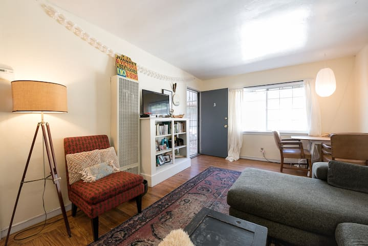 Cute apartment right by BART! - Berkeley - Apartment