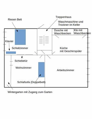 in 3. Reihe in Kronshagen versteckt - Kronshagen - Pis