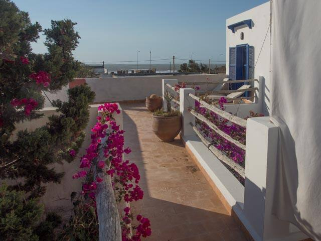 Moulay Bouzerktoune : appartement 2/3 pers vue mer