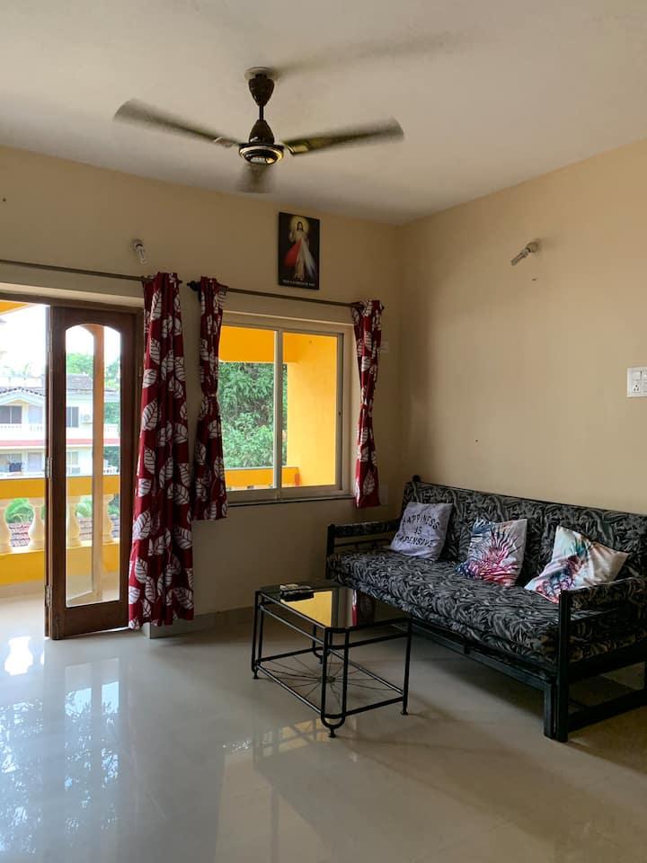 Cozy Apartments Anjuna Vagator Pamela Palms 1BHK