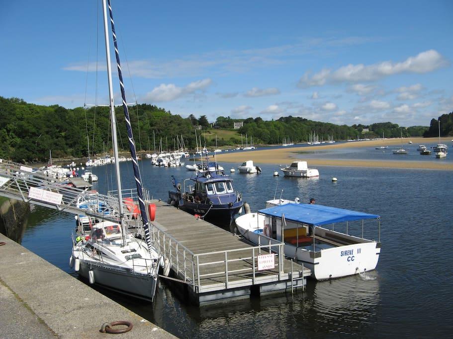 Le petit port du Pouldu