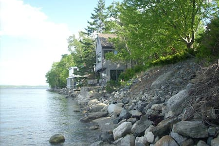 Cottage Built Right On Beach - Surry