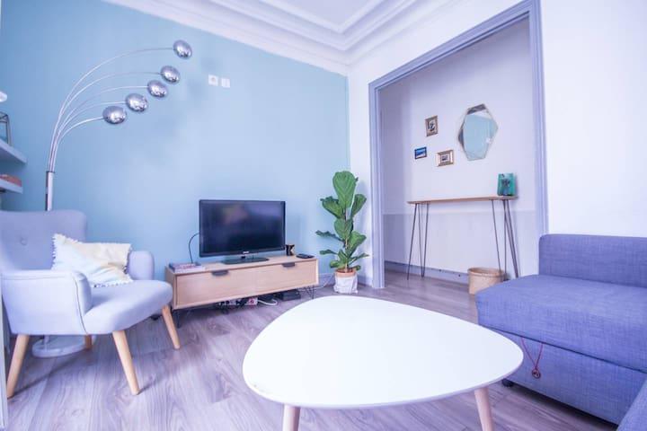 Appartement cosy avec balcon près de Bastille