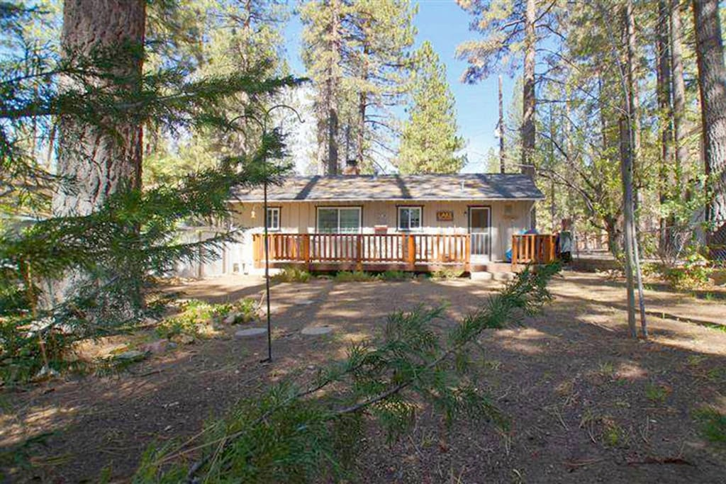 3 little bears cabin moonridge cabins for rent in big for Romantic big bear cabins