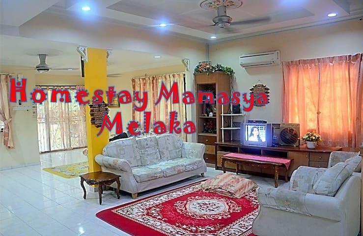 Homestay Mamasya Melaka Yang Luas