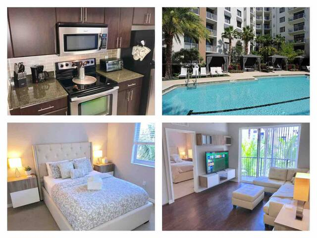 Luxury Resort Style Condo★Downtown Fort Lauderdale