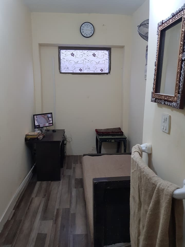 Budget single bed with all the facilities