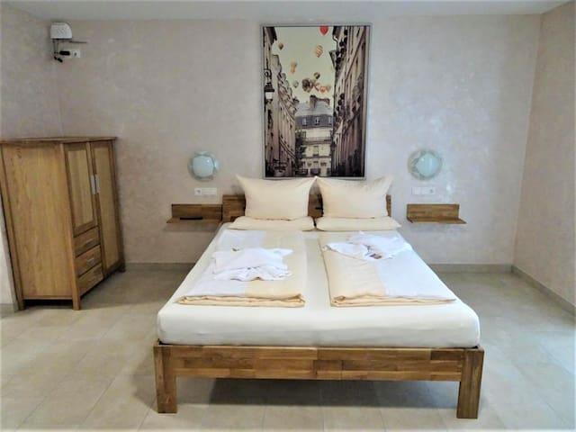 Hilda Apartments, (Rust), Apartment Erdgeschoss, 31qm, Terrasse, 1 Schlafzimmer, max. 5 Personen