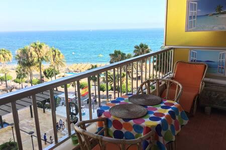Superb beachfront apartment in city centre - Marbella - Apartment