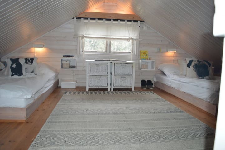 Loft with 2 beds