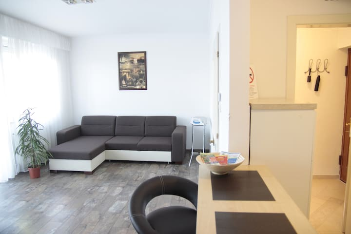 Studio flat close to Pascal Spa - free parking