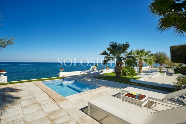 Incredible Seafront Villa in North Sicily