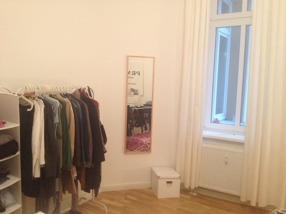 Big Window and dressing area