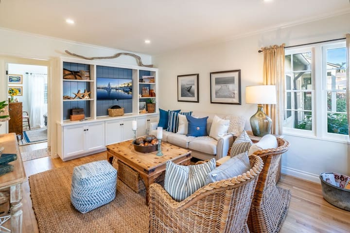 Captain's Cottage | Newly remodeled gem a block from West Beach!