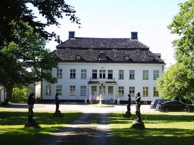 Vacker slottslägenhet 108m2, 3 rum, Ekerö