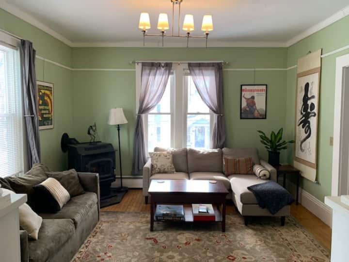 A music-lovers apartment in historic North Adams