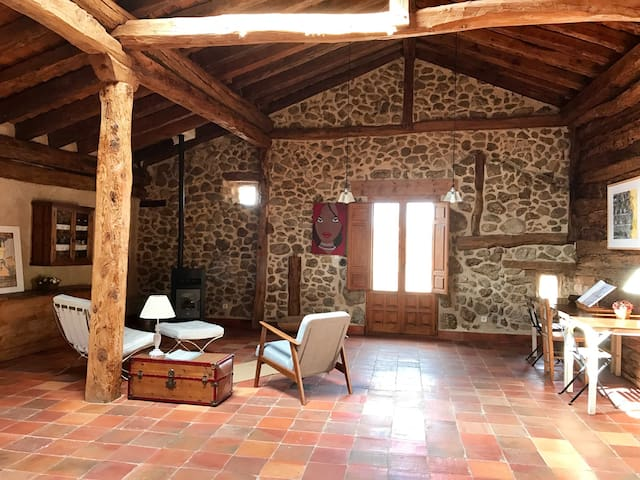 Dream loft 2 pers, in Sotosalbos 17km from Segovia - Sotosalbos - Casa