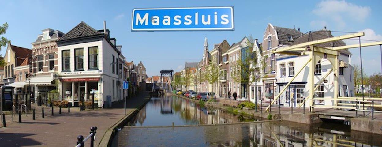 Comfortabele woning - Maassluis - บ้าน