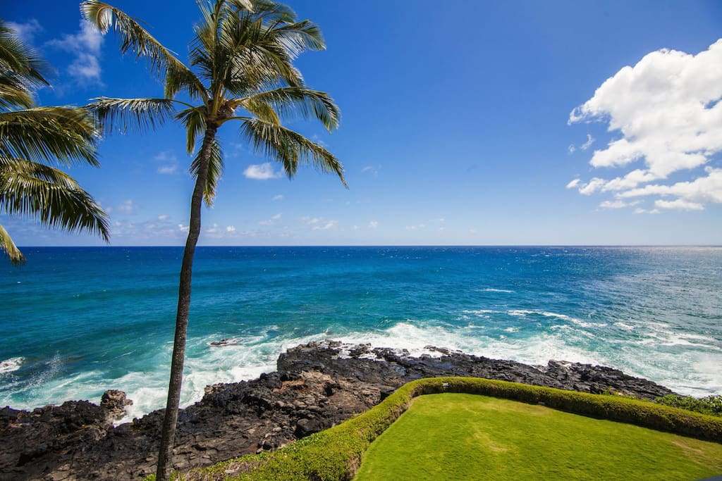 Beautiful View from Poipu Shores 304A