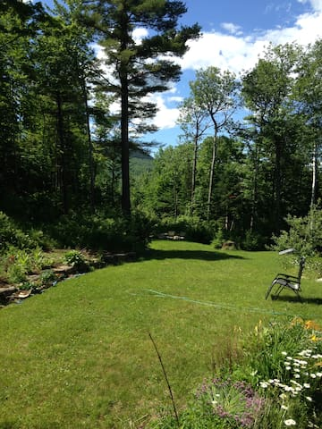 Paradise in Western Maine Mountains - Unorganized Territory of Perkins - House