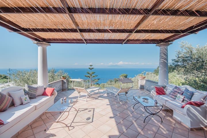 Villa Elena - Unbelievable views in Anacapri
