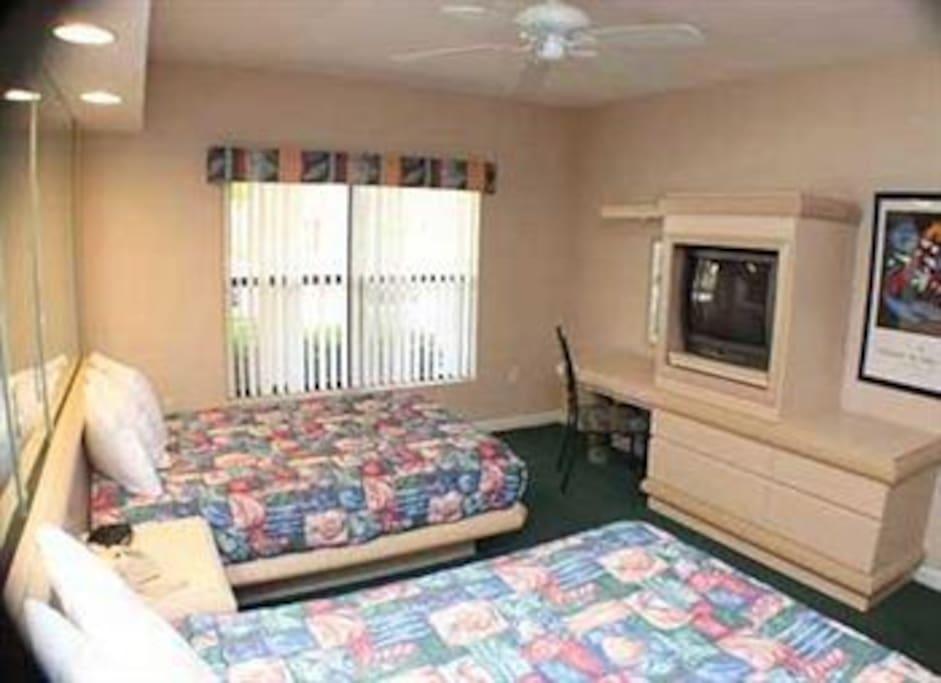 habitación secundaria doble. Second room (double)