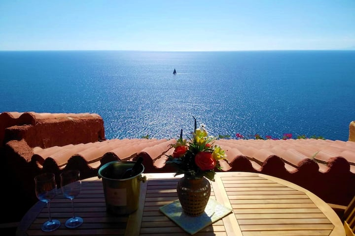 VILLA  BREATHTAKING SEA VIEW TORRE DELLE STELLE