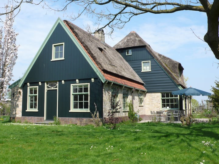 Family farmhouse in the countryside