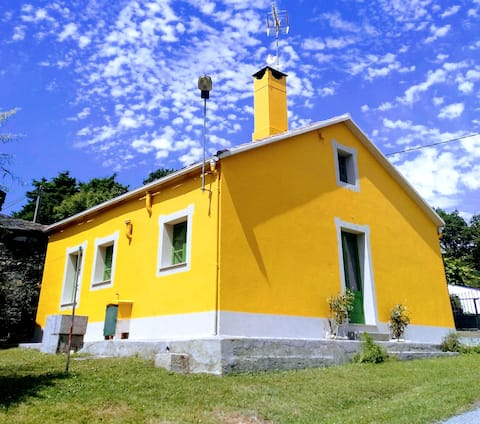 Luminosa y tranquila Casa de Campo en Galicia.
