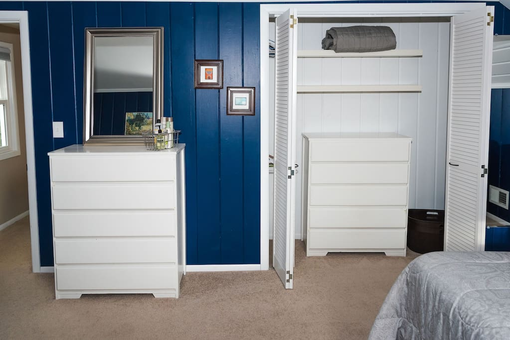 Bedroom Closet/Dresser (hanging area not visible)