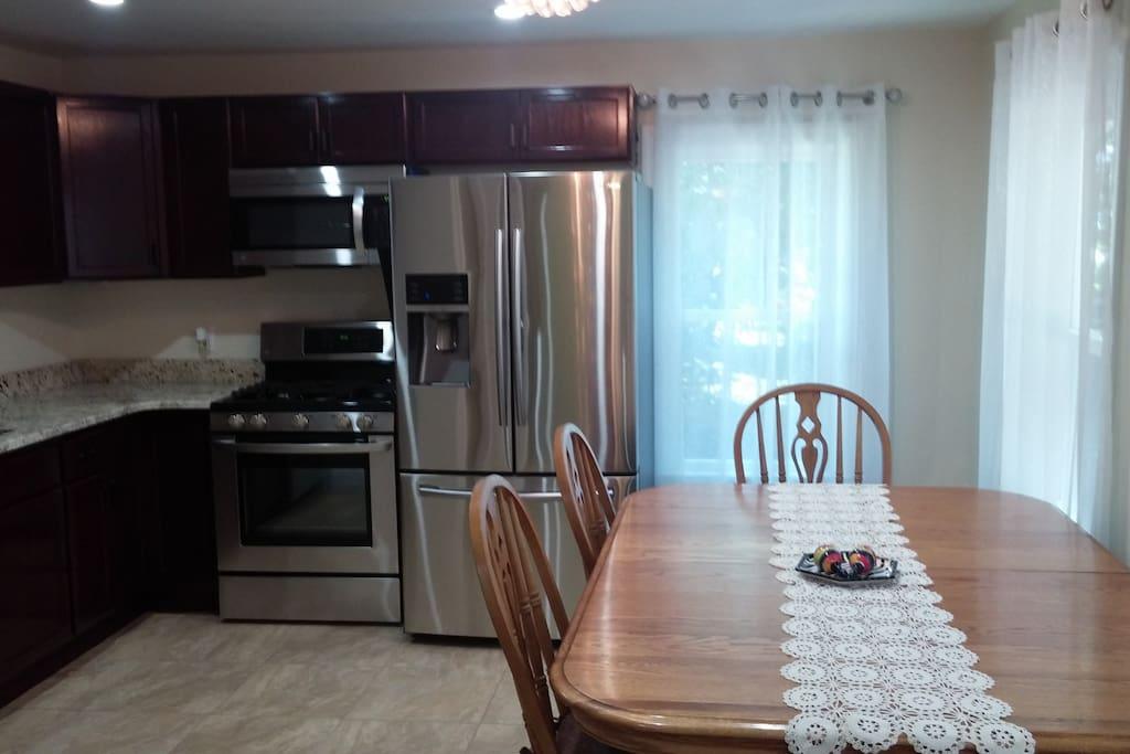 Apartment B Kitchen
