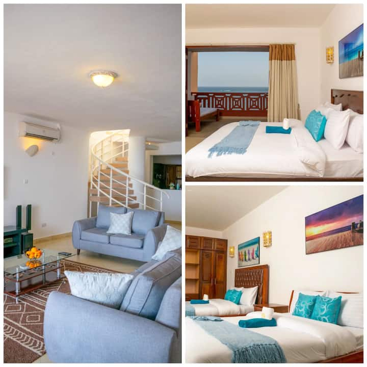 Ocean view 2 bedroom apartment in Shanzu Mombasa