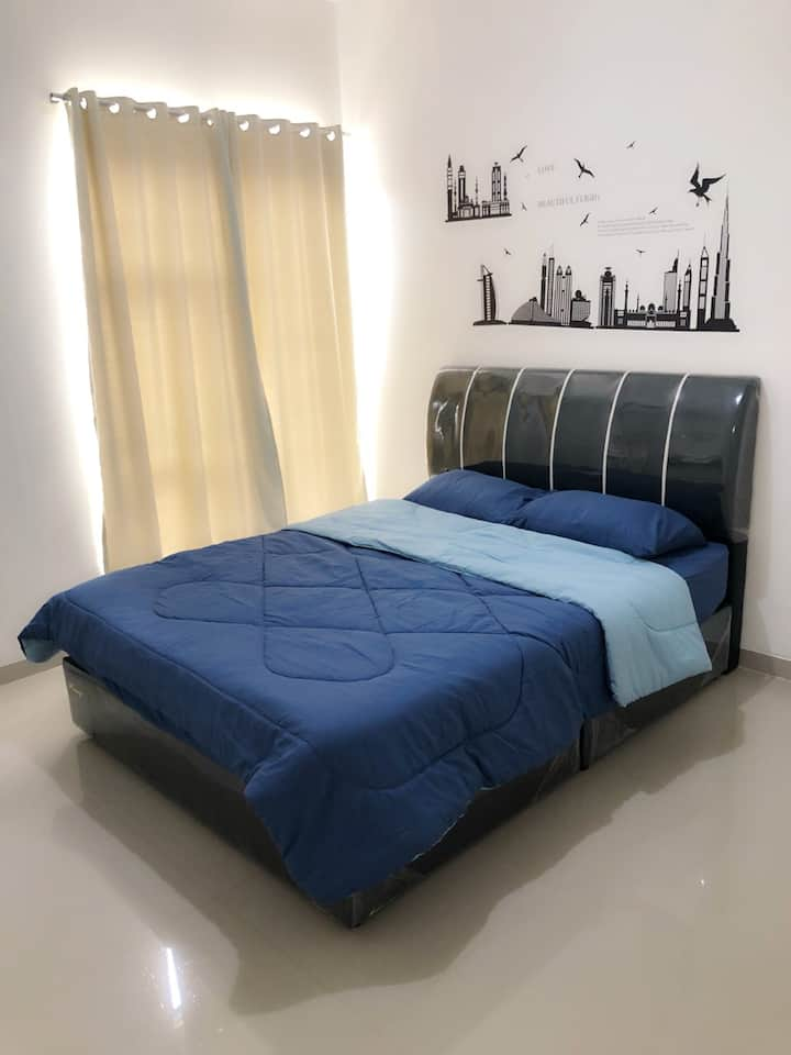 Cozy Home-3BR (Batam Centre)- up to 8 ppl