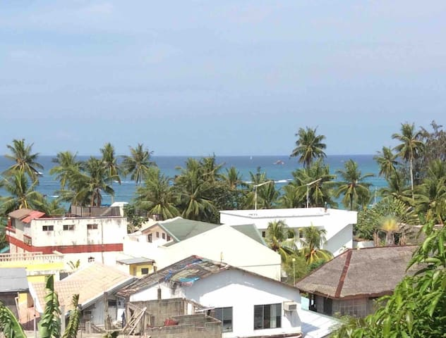 Ocean view from the balcony