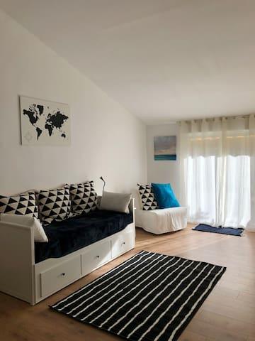Suite completa con entrada independiente.