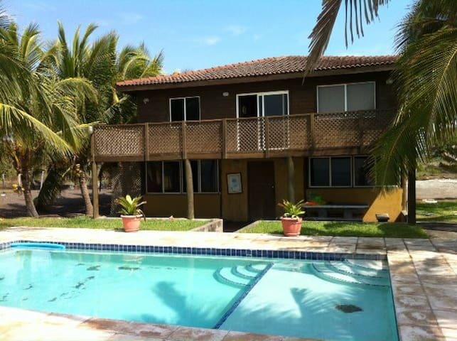Front Beach House in Monterrico - Monterrico - House