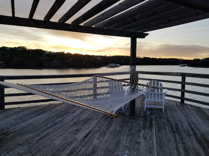 Bliss on Buchanan Lake in the Texas Hill Country