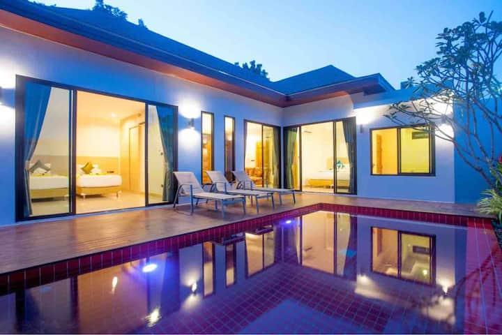 Private Pool Villa 3 bedroom near Big Buddha