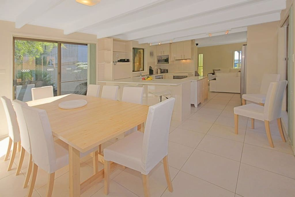 Kitchen and Dining - ample room