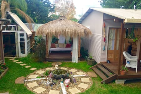 Peaceful cabin in town centre - Mullumbimby - Srub