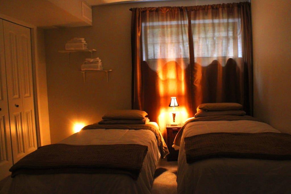 Cozy Twin room