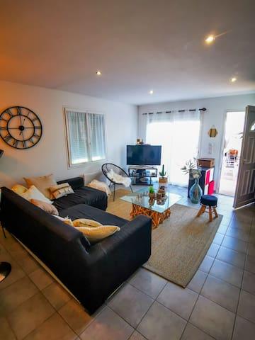 Appartement avec terrasse et jacuzzi