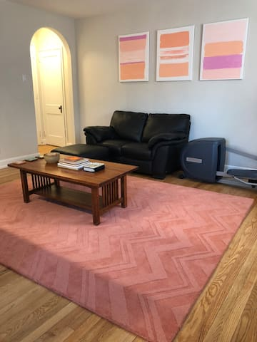 Private Full Apt (With Laundry!) Close to Train