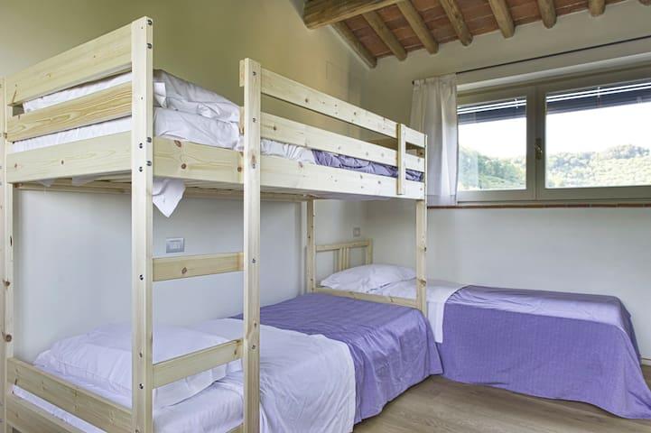 CHILDREN'S BEDROOM WITH PANORAMA