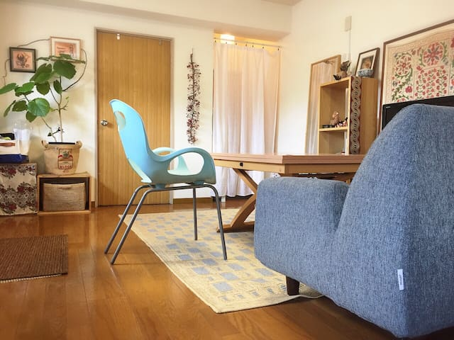 4min walk from JR Osaki st. -Female only/Free WiFi - Shinagawa-ku - Lejlighed
