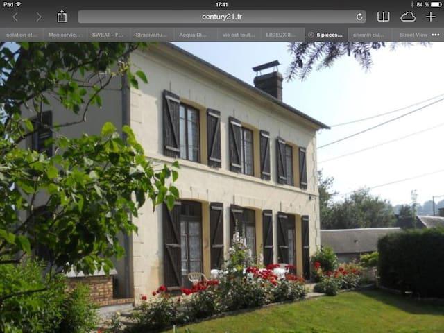 Chambre confortable en Normandie