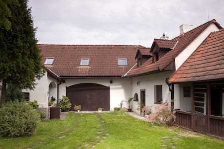 Rustic house in a quiet village - Sepekov, Líšnice - 独立屋